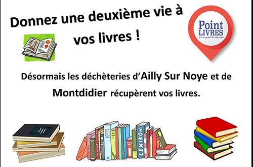 Donnez une nouvelle vie à vos livres !