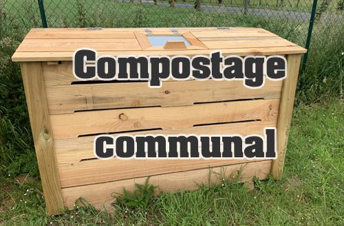 Installation des composteurs communaux